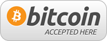 We accept Bitcoin payments